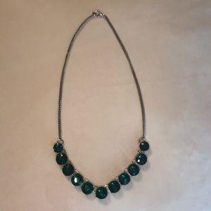 Jcrew green necklace